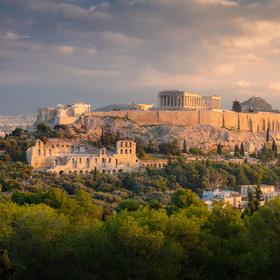 Morning over Acropolis