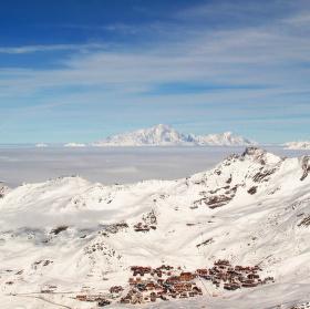 Mont Blanc za mořem