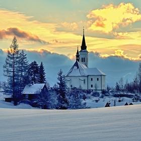 Beskydy,Malenovice,kostel na Borové