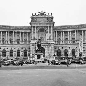 Předvánoční  WIEN - Hofburg