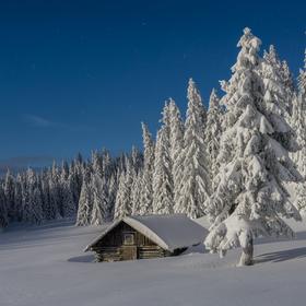 V snehovom obkľúčení