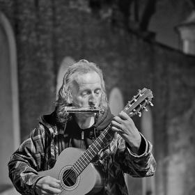 Muzikant ze Zámeckých schodů