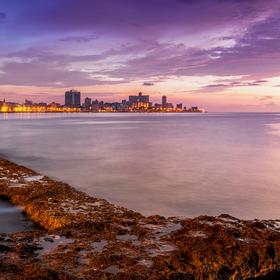 Sunset the Malecón