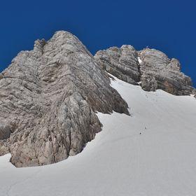 Na ledovci pod Dachsteinem