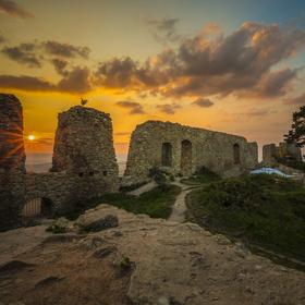 Západ slunce na Starém Jičíně