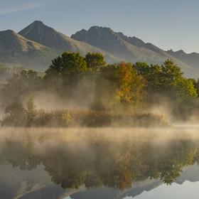 Strbský rybník dnes