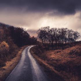 The Road | Glen Etive