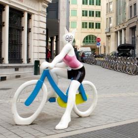 Bruselská cyklistka