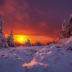 Oheň a sníh