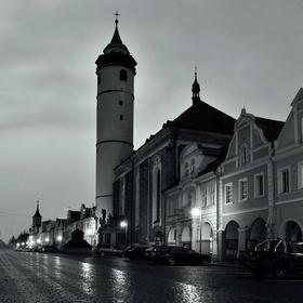 Chladné ráno z Domažlic