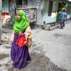 Na ulici v Bandarbanu