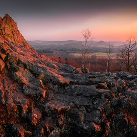 Lužickohorské panorama