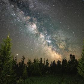 Noční Šumava