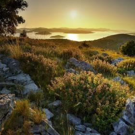 Výhled na Kornati