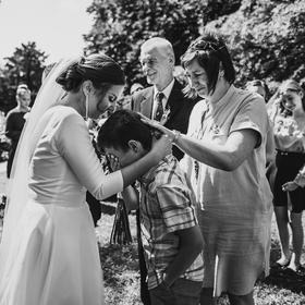 svatební emoce