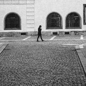 """centrum Prahy """"plné turistů"""""""