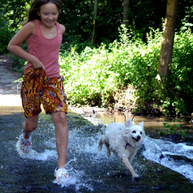 Běhání ve vodě