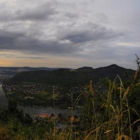 Ústí nad Labem po bouřce