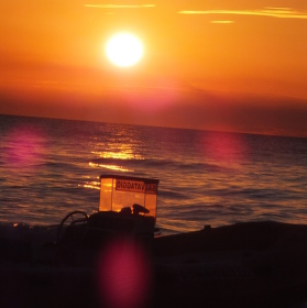 Italský západ Slunce