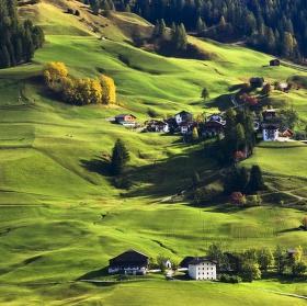 Dolomitské louky a pastviny