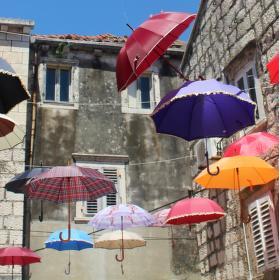 Jižanské deštníky