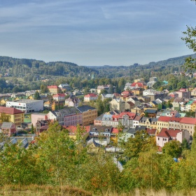 Panorama na Nejdek - Krušné Hory