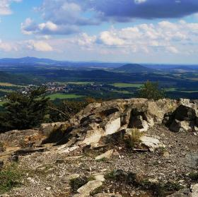 Pohled z vrcholu Klíč