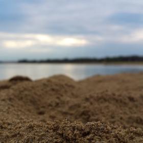 Plážový písek