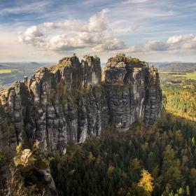 Podzimní Schrammsteine