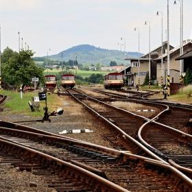 Opuštěné nádraží 2
