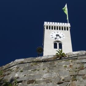 Hradní věž v Ljubljaně