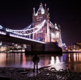 selfie s Tower Bridgem