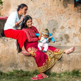 Štěstí v Pokhaře