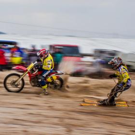 Motoskijöring Martinice 2015 ll