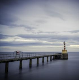 Blythe port, Northumberland, UK