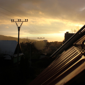 ...just sundown