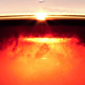 Slunce v růžovém