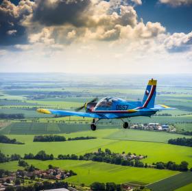 let nad Pardubicema
