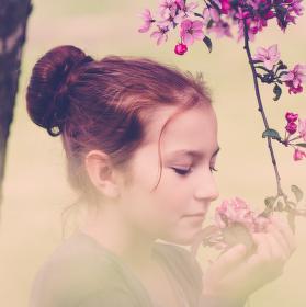 Květnová květinová
