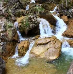 Vodopád v Rakousku :)