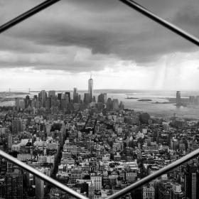 Bouře u Manhattanu