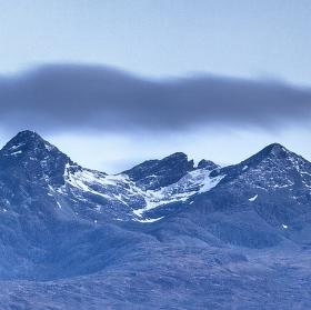 Sligachan - řeka Sligachan - Isle of Skye - Skotsko