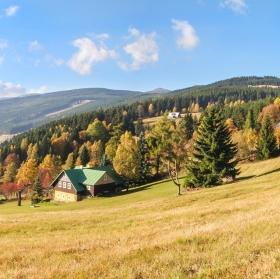 Podzimní krásy Krkonoš