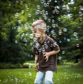 Bublinomet v akci