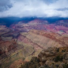 Bouře v Grand Canyonu