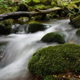 Obtekající kameny