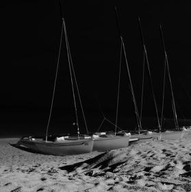 Snová noc na pláži