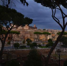 Římský podvečer