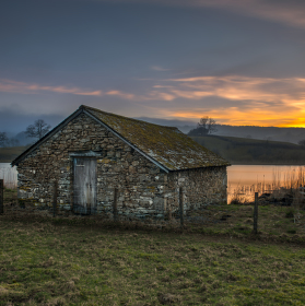 boat house, esthwaite water