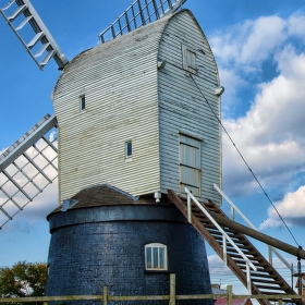 Větrný mlýn  Wragby